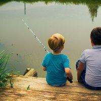 а озеро глубокое,удачный будет лов.... :: soom sumtsov