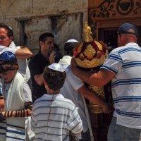 Иерусалим- у Стены плача посвящение во взрослую жизнь.. :: igor G.