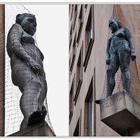 Настенная скульптура. Lorenzer Platz, Nürnberg :: Grigory Spivak