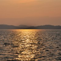 Байкал на закате :: Юлия Fox(Ziryanova)