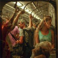 в метро :: дим димин