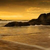 Индийский океан.Закат.Бетота. :: Андрей Харченко
