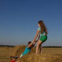 Друг всегда поможет :: Дарья Акулина