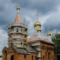 Строящийся храм :: -somov -