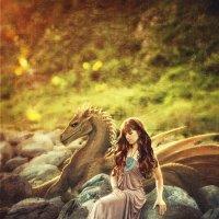 Я со своим  домашним драконом) :: Наталья Zima