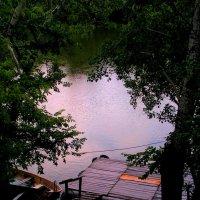 Старый причал под дождем весь промок... :: Елена Даньшина