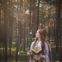 Маг-друид :: Мария Дергунова