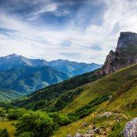 Горы, ранний вечер :: Ivan uhov