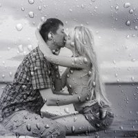 под дождём... :: Светлана