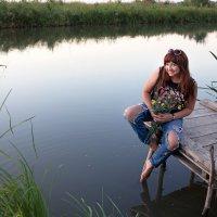 И вновь фотограф в поисках новых мест для фото-сессий! )) :: Райская птица Бородина