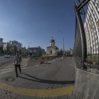 Арбатская площадь. :: Яков Реймер