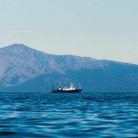 Морской пейзаж. :: Юрий Харченко