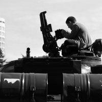 На танке :: Дмитрий Арсеньев