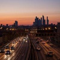 Закат в Москве :: Pavel Stolyar