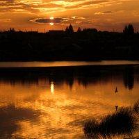 Закат на Содышке! :: Владимир Шошин