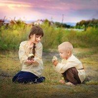 деревенские дети :: Оксана Чепурнаева