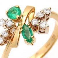 Кольцо с изумрудами и бриллиантами :: Максим Стриганов
