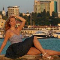 в Морпорту :: Ольга Исакова