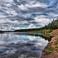 сибирская река :: Александр мигай