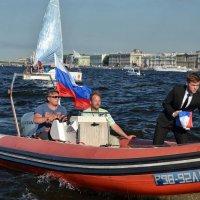 Доставка флага :: Юрий Тихонов