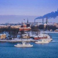 Зимний Стокгольм :: Женечка Зяленая