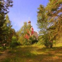 Деревенская церквушка! :: Ирина Олехнович