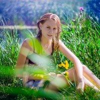 У реки :: Наталия Анфиногентова
