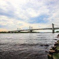 Мост через Волгу. :: Бронислав Богачевский