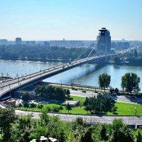 Мост СНП через Дунай в Братиславе :: Денис Кораблёв