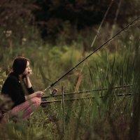 Мечты о золотой рыбке... :: Женя Лузгин