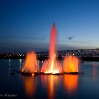 Фонтан, Новосибирск :: Катя Медведева