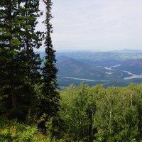Вид с горы Синюхи :: Наталия Григорьева