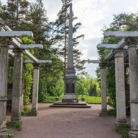 Кагульский обелиск :: Anjelika Reshetnikova
