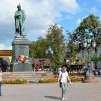 День варенья на Пушкинской площади. :: Oleg4618 Шутченко