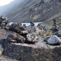 Рукотворные сейды каменного городка. :: Лазарева Оксана