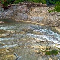 У водопада Разлом. Сахрайские водопады. :: Юлия Бабитко