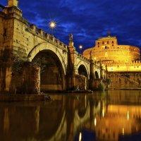 Мост и Замок Святого Ангела :: Милана Гресь