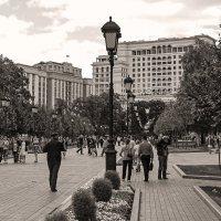 В Александровском саду (Москва) :: Сергей Фомичев