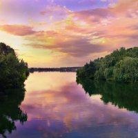 Завораживают  краски заката :: Максим Иванов