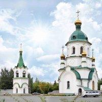 Храм - часовня Святого праведного Даниила Ачинского :: Анна Гульбинас