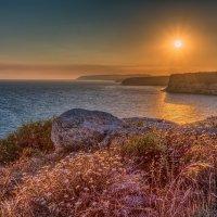 Закат на Кипре (Курион) :: Владимир Горубин