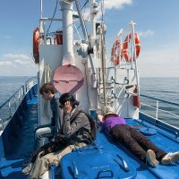 Корабль плывёт. :: Валерий Молоток