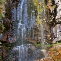 Водопад :: Горный турист Иван Иванов