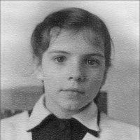 Первоклассница. 1956 год :: Нина Корешкова
