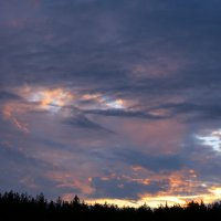 Небо рисует. :: Николай Масляев