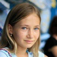Девочка :: Darina Mozhelskaia