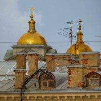 Немного крыш и куполов :: Вербена Лаета