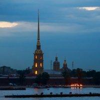 огни в ночи :: Евгений Никифоров