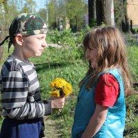 Первые цветы :: Зоя Мишина