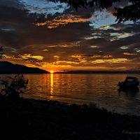 Байкал, восход :: Светлана Воробьёва